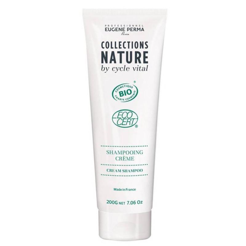 Eugène Perma - Shampoing Crème Certifié Bio COLLECTIONS NATURE - 6X50ml