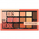 Maybelline New York - Palette Fards à Paupières NUDES OF  NEW YORK - 16 Teintes