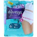 Always - Culottes Pour Fuites Urinaires Femme 9pcs DISCREET - Plus Medium