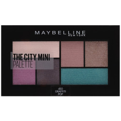 Maybelline New York - Palette Fard à Paupières THE CITY MINI - 450 Graffiti Pop