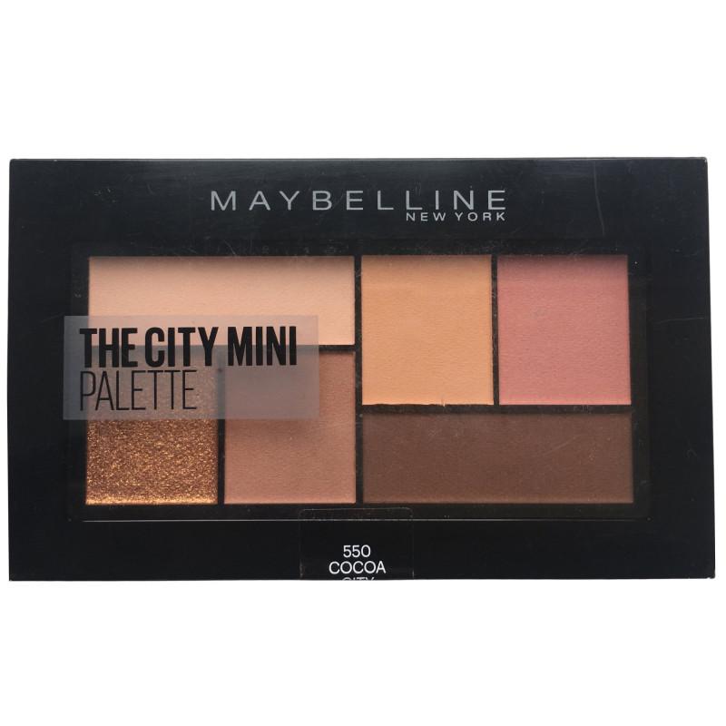 Maybelline New York - Palette Fard à Paupières THE CITY MINI - 550 Cocoa City