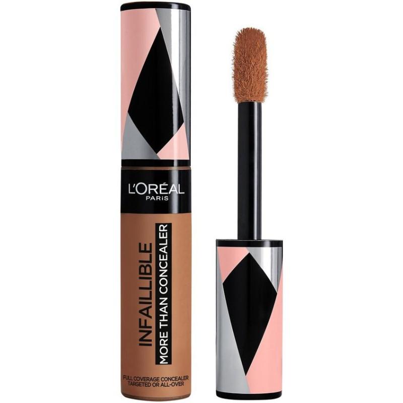 L'Oréal Paris - More Than Concealer Correcteur et Fond de Teint 2 En 1 INFALLIBLE - 338 Honey 11ml