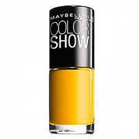GEMEY MAYBELLINE - Vernis COLORSHOW - 749 Electric Yellow