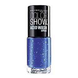 Maybelline New York - Vernis COLORSHOW ACID WASH - 248 Bleached Blue