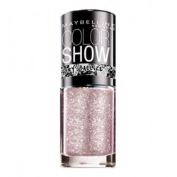 GEMEY MAYBELLINE - Vernis COLORSHOW CRYSTALLIZE - 233 Silver Touch