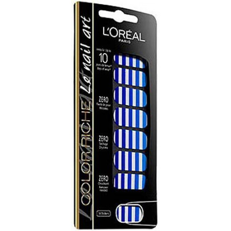 L'Oréal Paris - Stickers Ongles COLOR RICHE - 005 French Mariniere