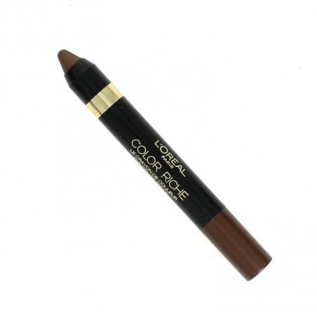 L'ORÉAL - Le crayon de couleur COLOR RICHE - 02 Enigmatic Brown