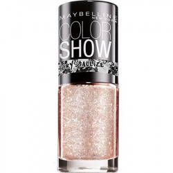 GEMEY MAYBELLINE - Vernis COLORSHOW CRYSTALLIZE - 232 Rose Chic