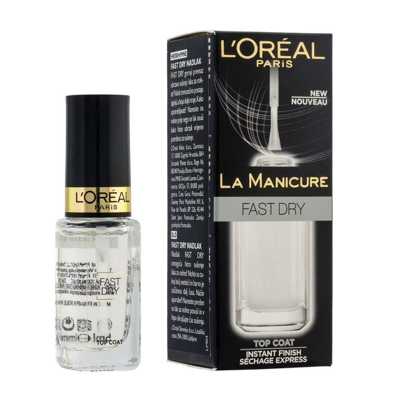 LA MANICURE Base + Protège vernis 2 en 1 - L'Oréal