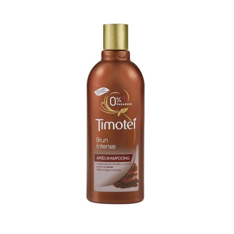 Après-Shampoing TIMOTEI - Brun Intense