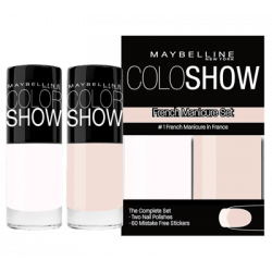 GEMEY MAYBELLINE - Kit French Manucure COLORSHOW