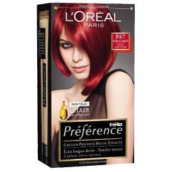 Coloration Préférence - P67 Rouge Très Intense