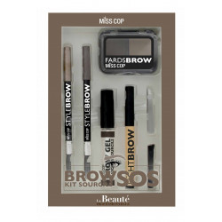 MISS COP - Kit Sourcils SOS EYEBROW