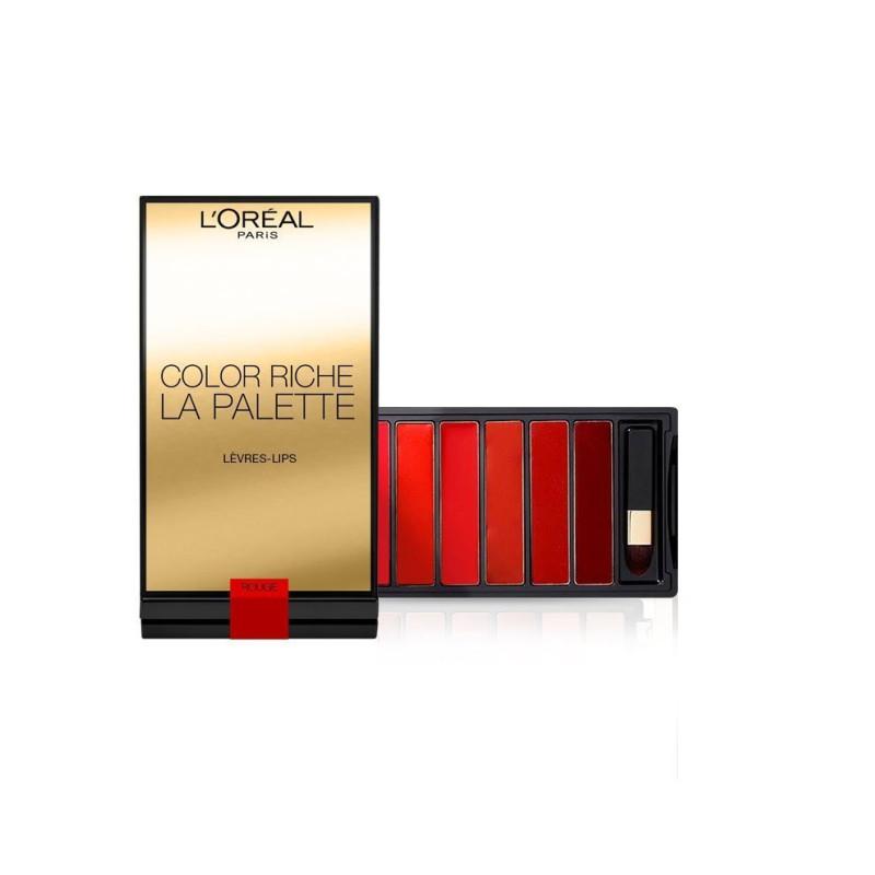 La Palette lèvres COLOR RICHE GLAM L'Oréal
