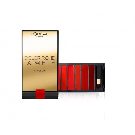 L'ORÉAL - La Palette lèvres COLOR RICHE RED