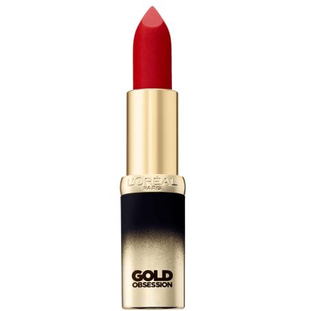 L'ORÉAL - Rouge à Lèvres COLOR RICHE GOLD OBSESSION - Rouge Gold