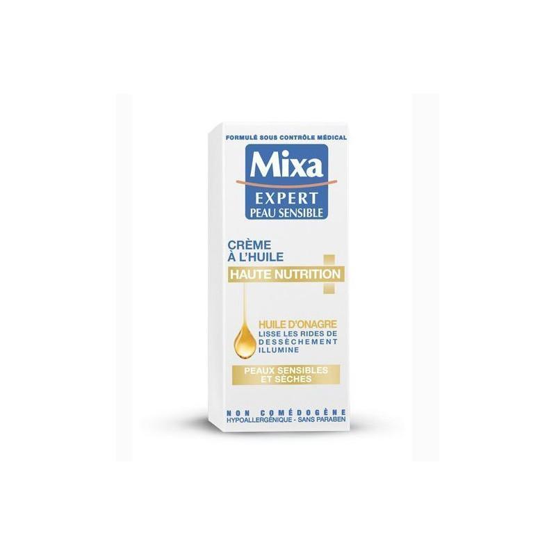 Crème Nutritive à l'Huile d'Onagre - MIXA