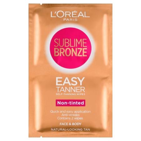 L'Oréal Paris - Lingettes Auto-bronzantes EASY TAN SUBLIME BRONZE