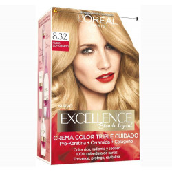 L'ORÉAL - Coloration Excellence Legends - 8.32 Red Carpet Blonde