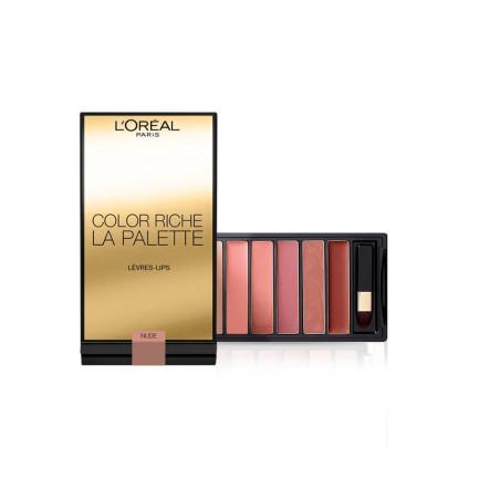 L'ORÉAL - La Palette lèvres COLOR RICHE NUDE