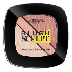 L'Oréal Paris - Trio Contouring Blush SCULPT - 101 Ambre