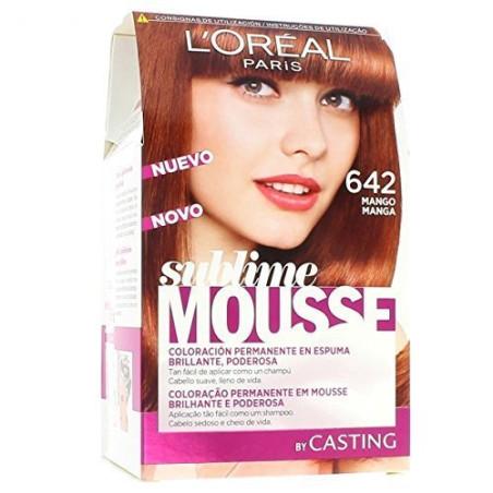Coloration SUBLIME MOUSSE - 642 Mangue