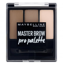 GEMEY MAYBELLINE - MASTER BROW Pro Palette - 03 Soft Brown