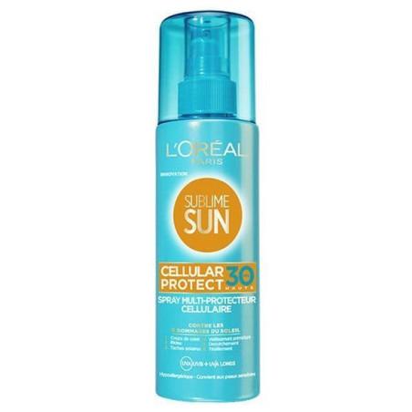 Spray Multi-protecteur cellulaire SUBLIME SUN L'ORÉAL FPS 30+