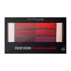 GEMEY MAYBELLINE - Palette Lèvres COLOR DRAMA - 01 Crimson Vixen