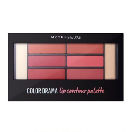 Maybelline New York - Palette Lèvres COLOR DRAMA - 02 Blushed Bombshell