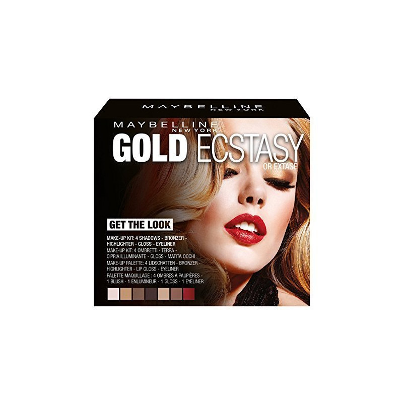 Coffret UP IN SMOKE GEMEY MAYBELLINE
