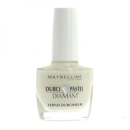 Maybelline New York - Vernis Durcisseur - DURCI PASTEL DIAMANT - 04 Blanc