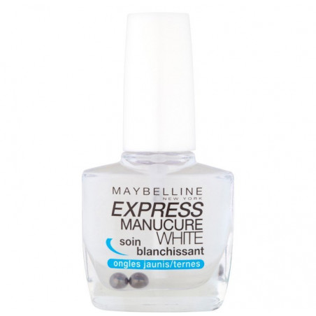 Maybelline New York - Soin Blanchissant EXPRESS MANUCURE - Ongles Jaunes/Ternes