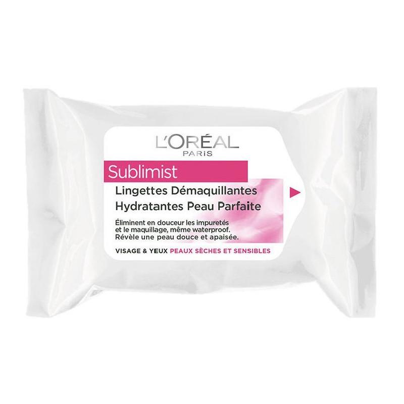 Lingettes Nettoyantes Douceur Visage & Yeux SUBLIMIST