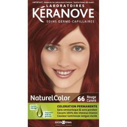 KÉRANOVE Coloration Naturel Color - 66 Rouge Cuivre