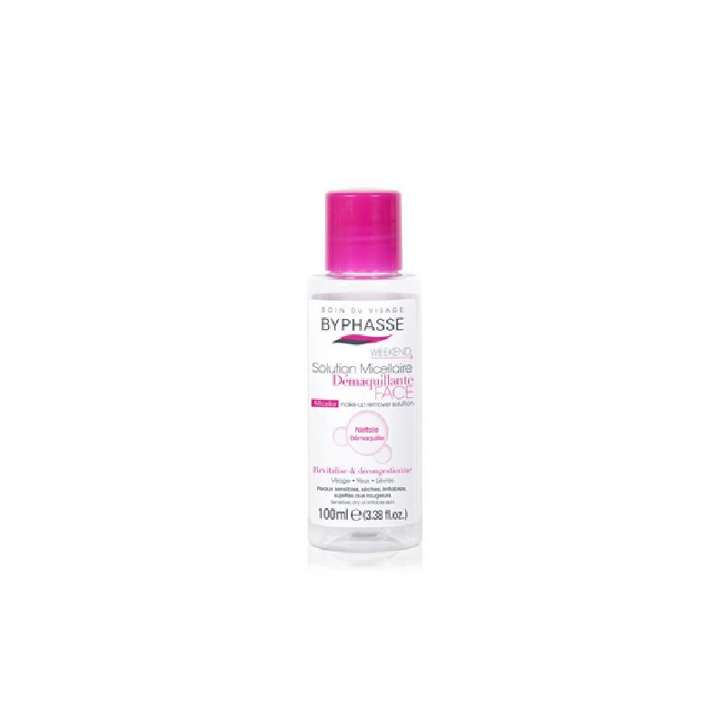 Solution Micellaire Démaquillante BYPHASSE - 100ml