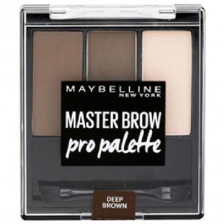 GEMEY MAYBELLINE - MASTER BROW Pro Palette - 04 Deep Brown
