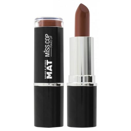 Miss Cop - Rouge à lèvres MAT - 10 Crème De Marron