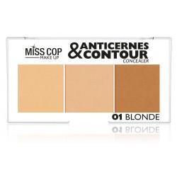 Anticernes & Contour MISS COP - 01 Blonde