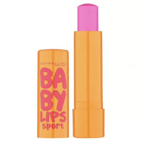 Maybelline New York - Baume à lèvres BABY LIPS SPORT - Poolside Pink