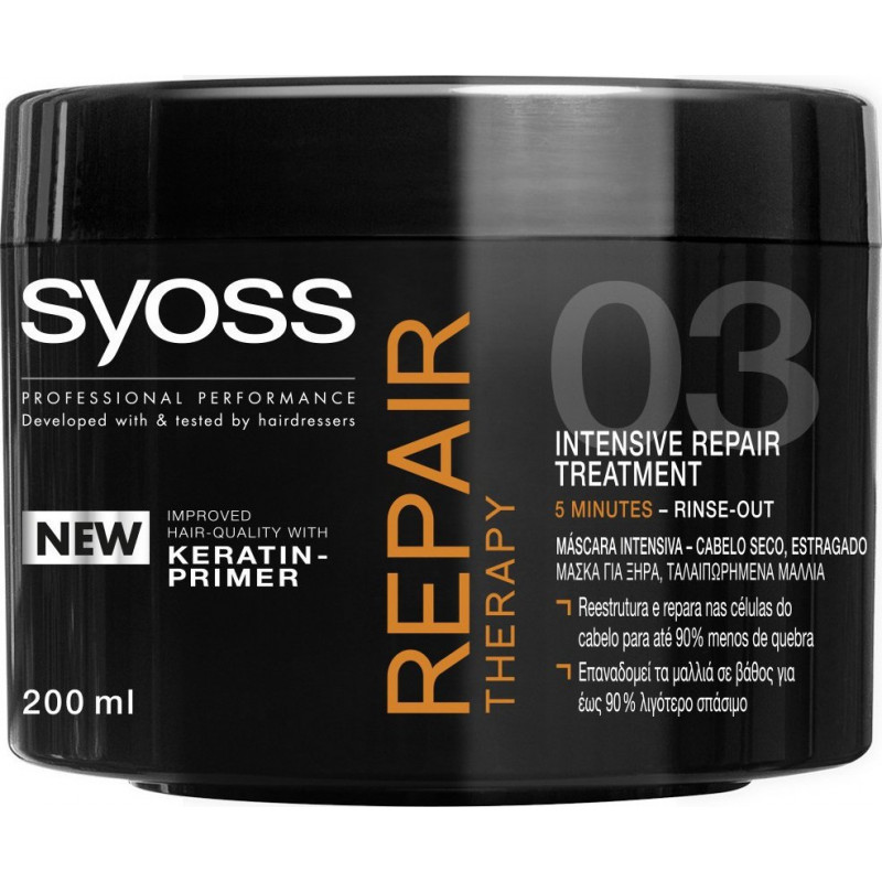 Masque SYOSS Repair Therapy - 200ml