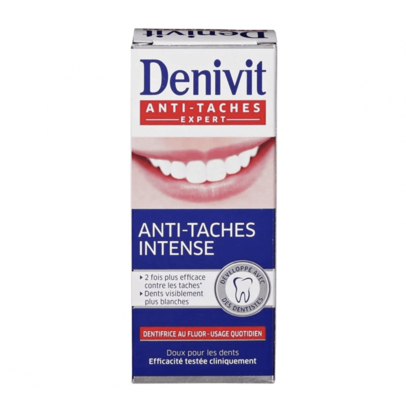 Dentifrice DENIVIT Anti-Tâches Intense