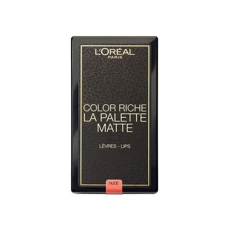 La Palette lèvres COLOR RICHE MATTE NUDE L'Oréal