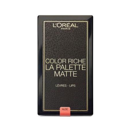 L'ORÉAL - La Palette lèvres COLOR RICHE MATTE NUDE