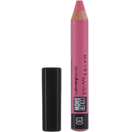 GEMEY MAYBELLINE - Crayon à Lèvres COLOR SHOW - 130 Love My Pink
