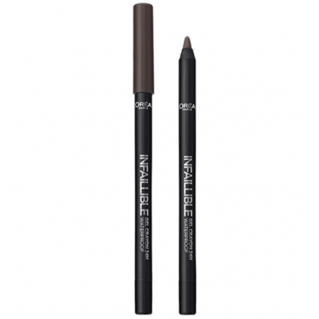 L'ORÉAL - Gel crayon 24H Waterproof INFAILLIBLE - 003 Browny Crush