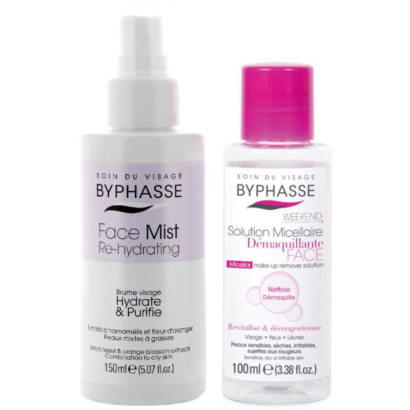 Baume Visage Hydrate & Purifie BYPHASSE + OFFERT Solution Micellaire