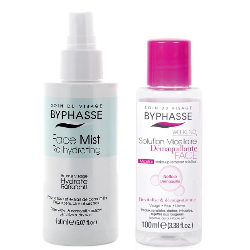 Baume Visage Hydrate & Rafraîchit BYPHASSE + OFFERT Solution Micellaire