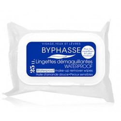BYPHASSE - Lingettes Démaquillantes - Waterproof