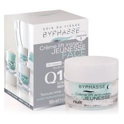 BYPHASSE - Crème Lift Instant Jeunesse Q10 Soin De Nuit